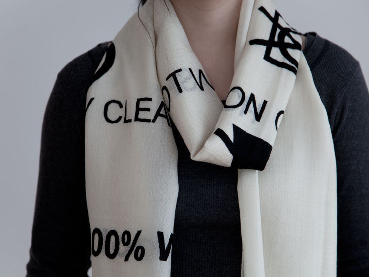 CARE LABEL TWO SCARF