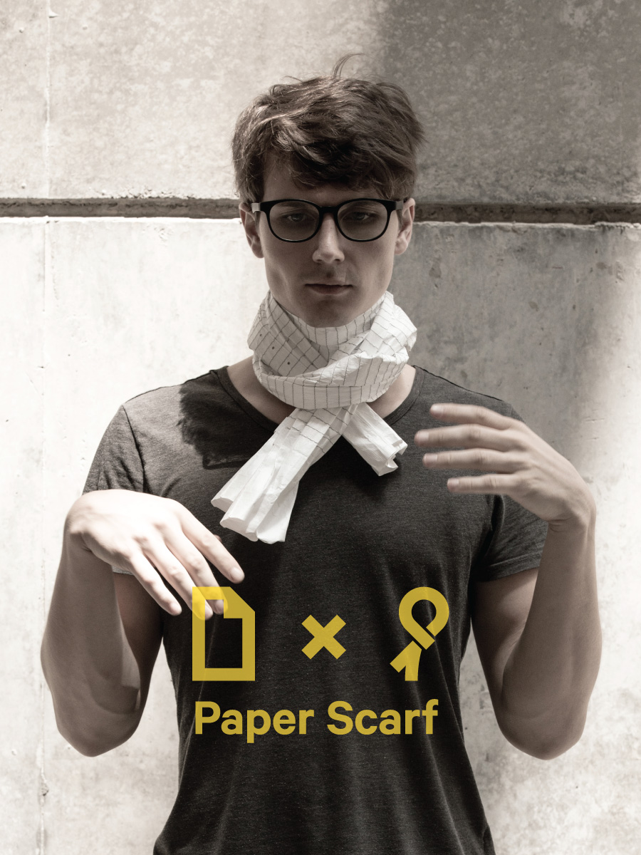 PAPER SCARF GALLERY