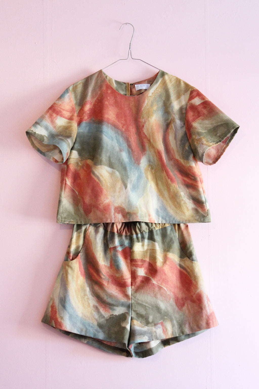 WATERCOLOR TWO PIECE