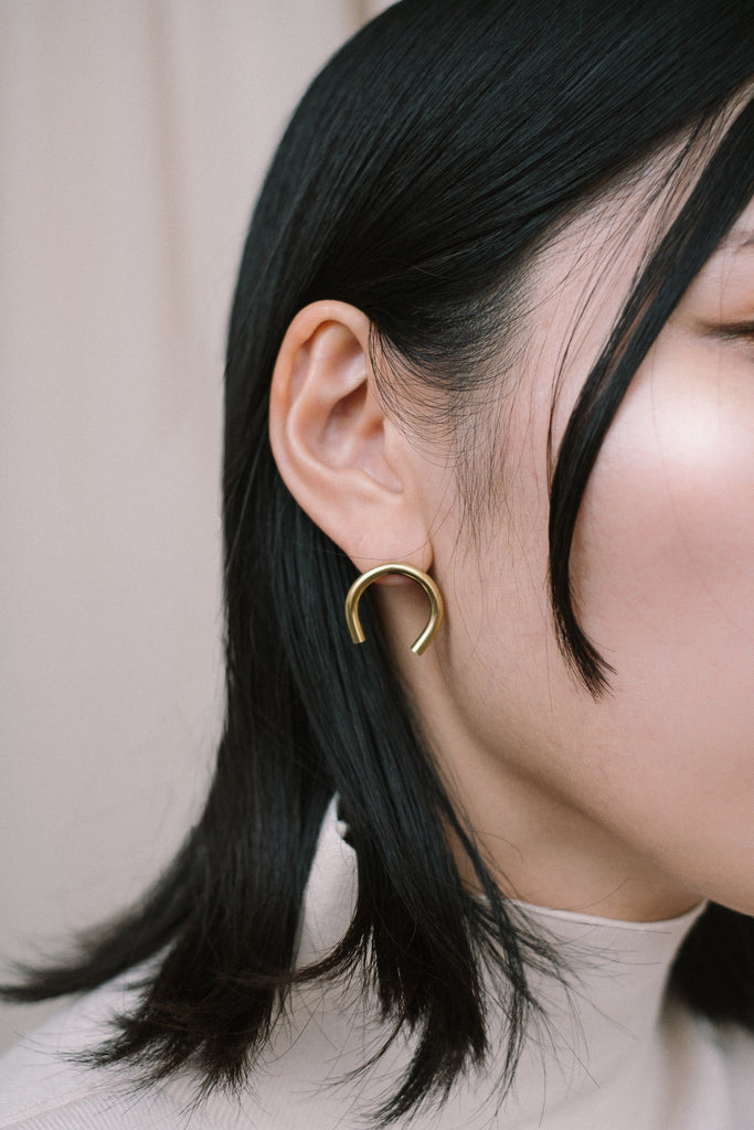 C earrings N°1 - IKIGAI LABELS