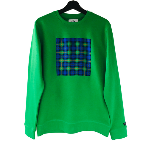 GREEN DIAMONDS SWEATER - IKIGAI LABELS