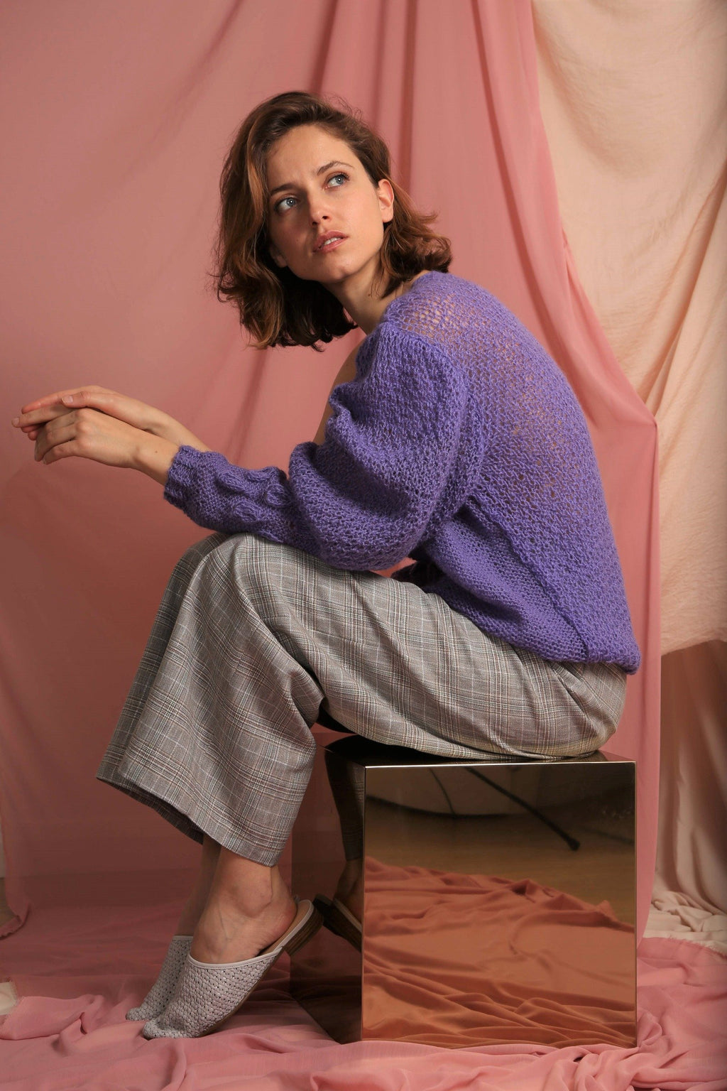 Sustainable & ethically made hand knitted sweater ?id=14824465465480