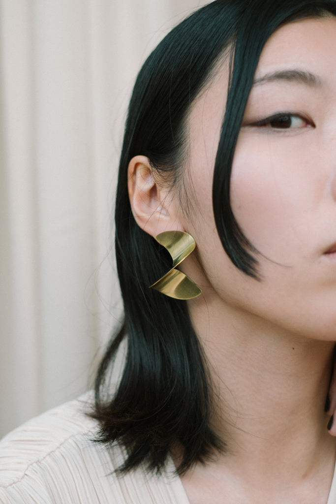 SINE earrings N°2 - IKIGAI LABELS