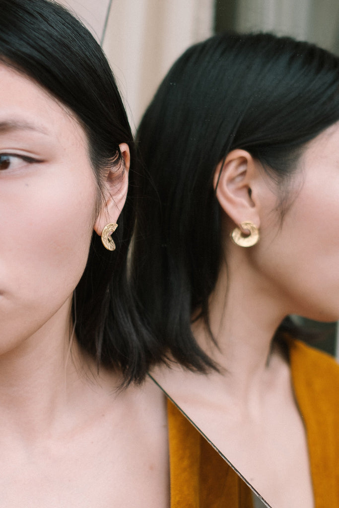 TWIST earrings N°2 - IKIGAI LABELS