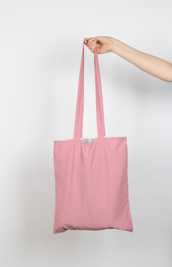 PINK TOTE BAG - IKIGAI LABELS