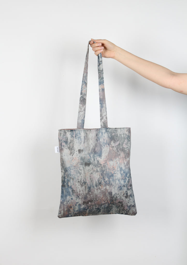 DARK GREY TOTE BAG - IKIGAI LABELS
