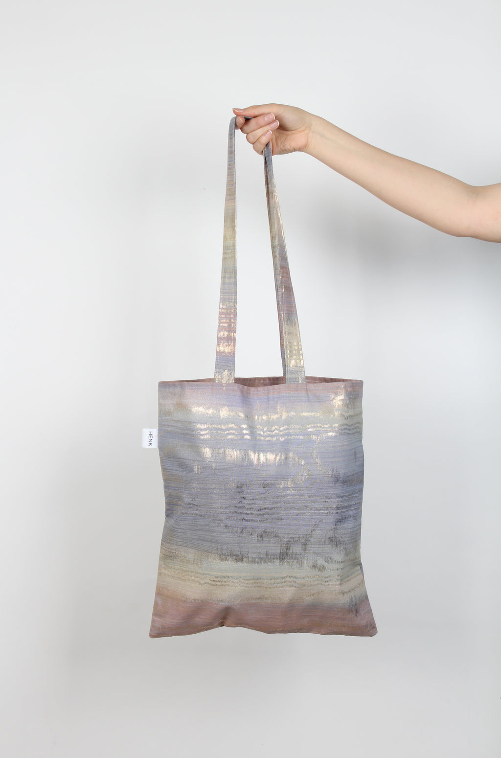 LILAC GOLD TOTE BAG - IKIGAI LABELS