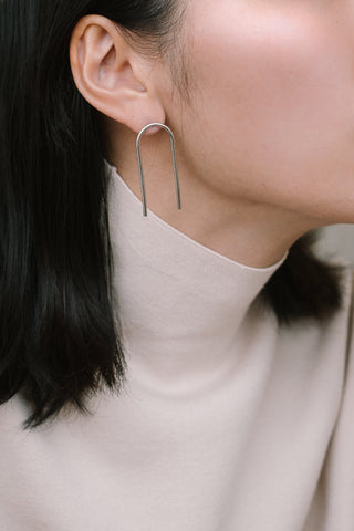 U earrings N°1 - IKIGAI LABELS