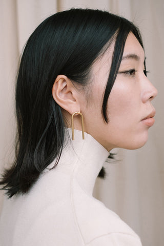 U earrings N°2 - IKIGAI LABELS
