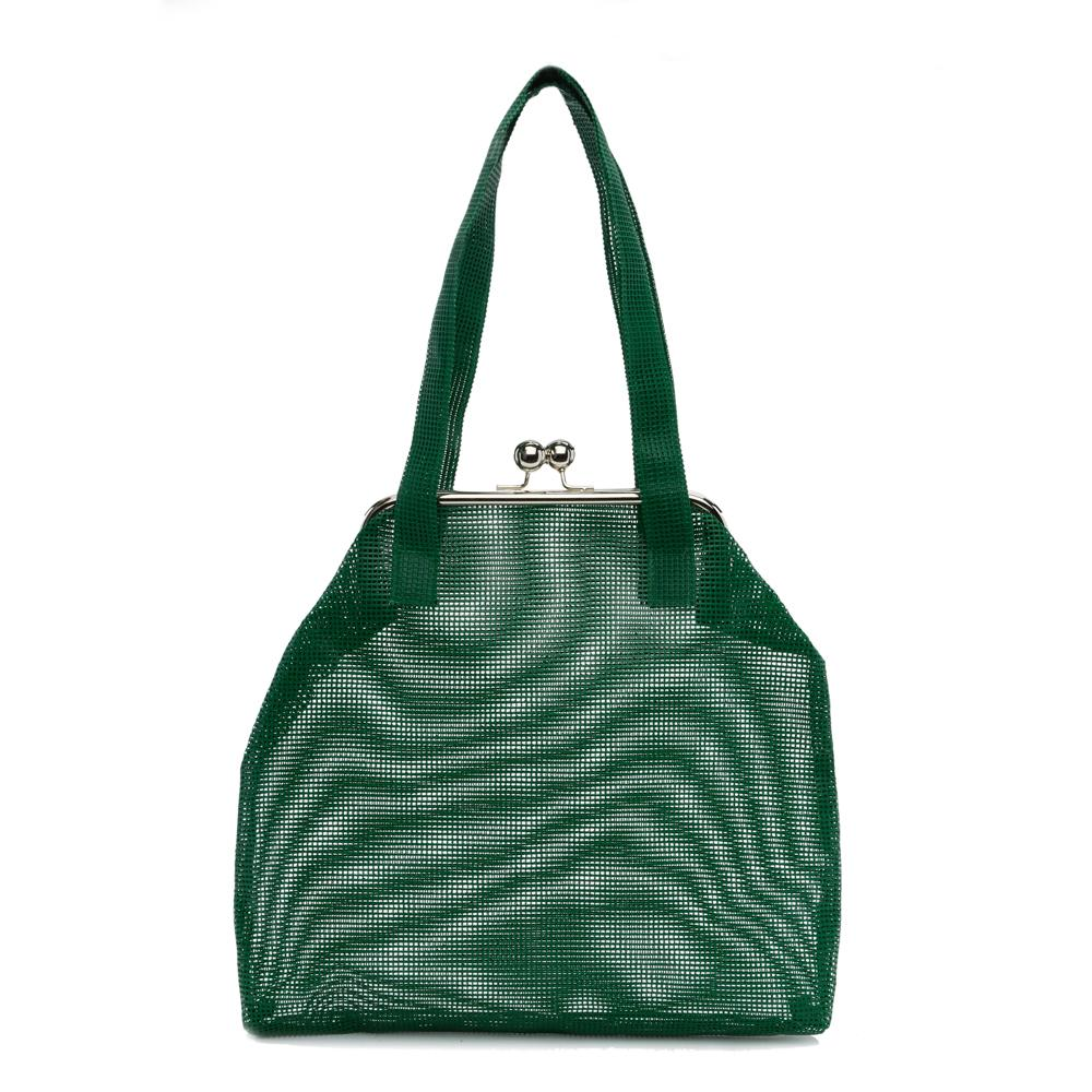 GREEN GAMMA HANDBAG - IKIGAI LABELS