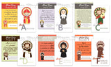 A to Z Saint Cards. Set of 26 A to Z Kids Saint Cards. First Communion. Baptism Gift. Catholic Gift. Saint Alphabet. ABC Saint Cards. Easter