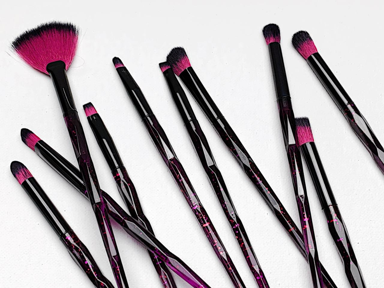 10 piece Constellation Brush Set - Rogue Cosmetics