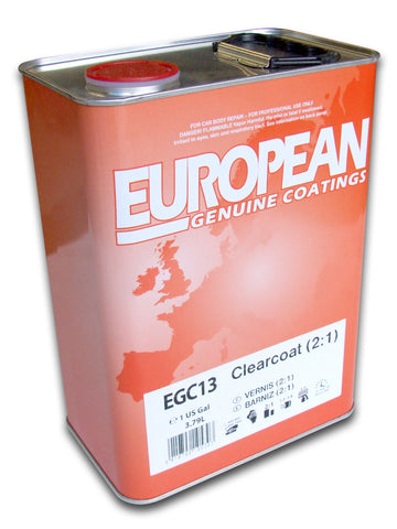 Genuine European Coatings HS Clear Coat