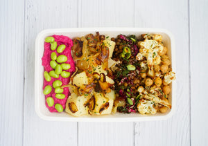 Vegetarian salad box