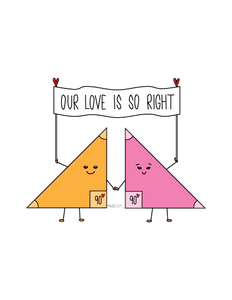 OUR LOVE IS SO RIGHT (BANNER)