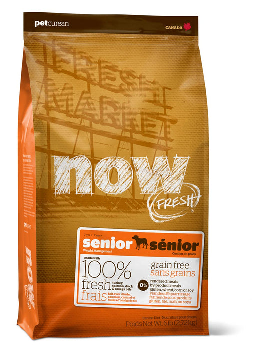 Petcurean Now! Fresh Grain Free Senior Dry Dog Food