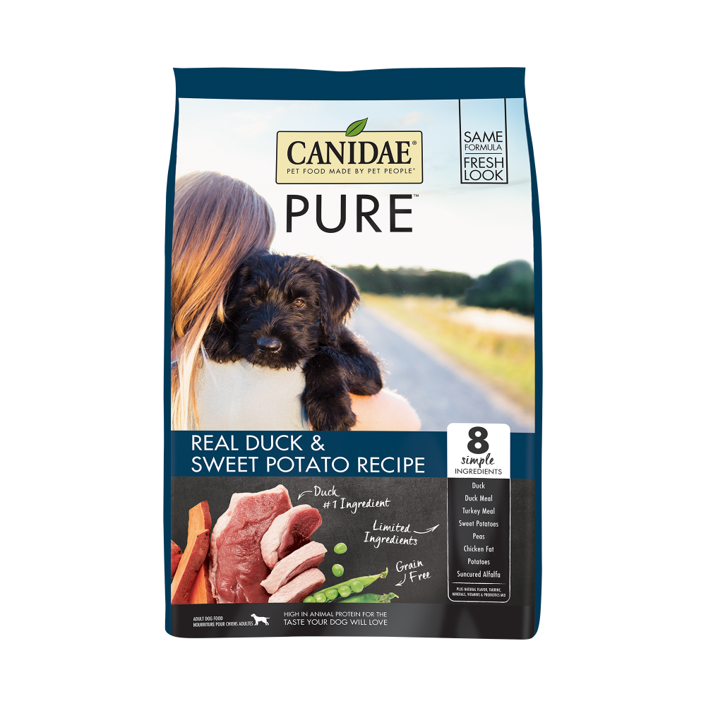 Canidae Grain Free PURE Duck & Sweet Potato Recipe Dry Dog Food