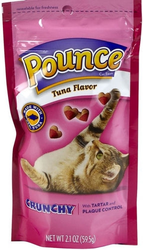 Pounce Tartar Control Tuna Flavor Cat Treats