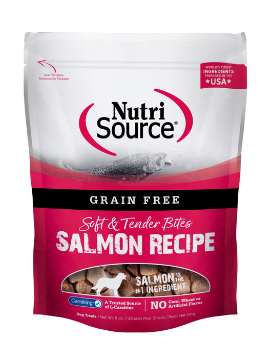 NutriSource Soft & Tender Salmon Dog Treats