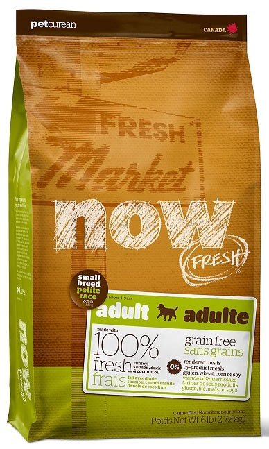 Petcurean Now! Fresh Grain Free Small Breed Adult Dry Dog Food