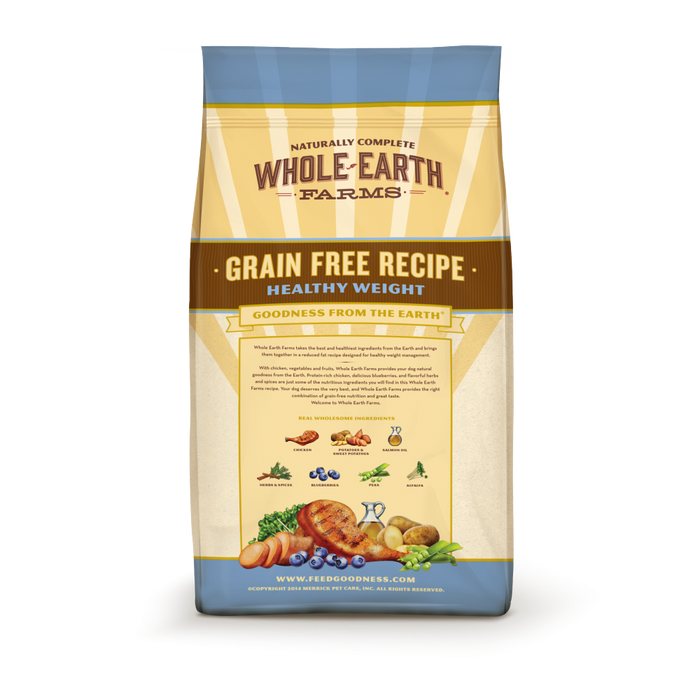 Whole Earth Farms Grain Free Recipe Healthy Weight Dry Dog Food
