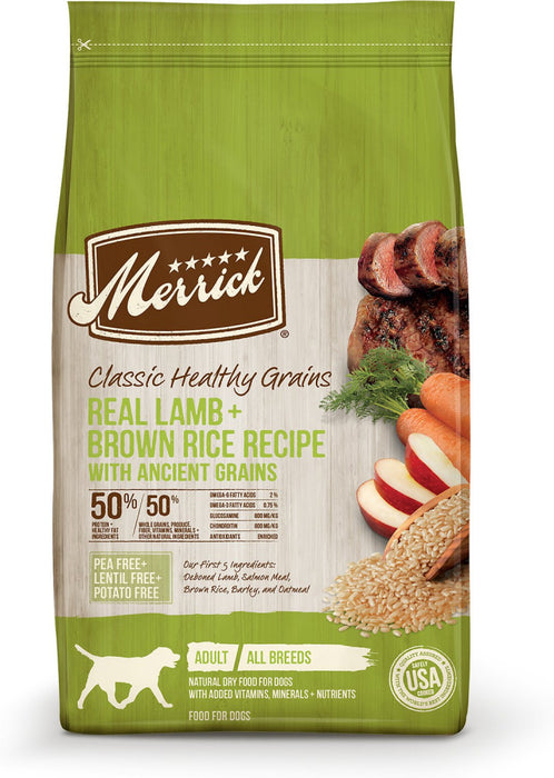 Merrick Classic Lamb & Brown Rice Recipe with Ancient Grains Dry Dog Food