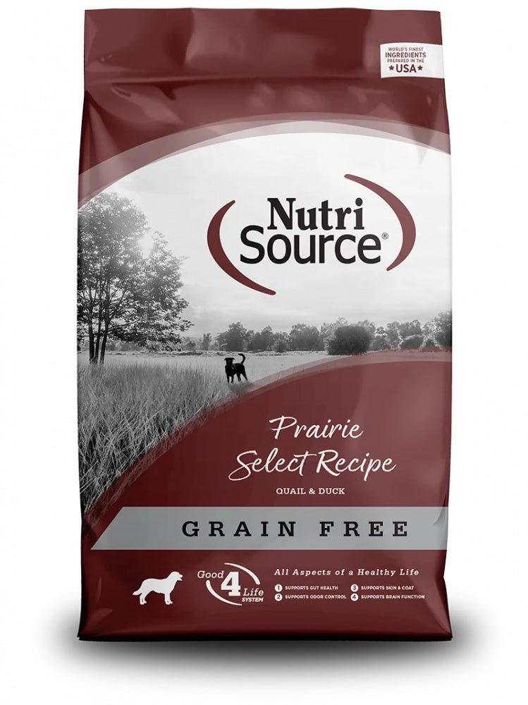 NutriSource Grain Free Prairie Select Dry Dog Food