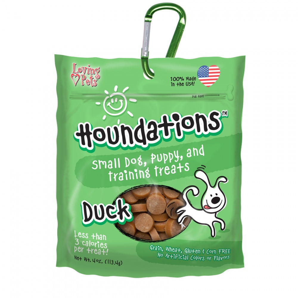 Loving Pets Houndations Grain Free Duck Training Dog Treats