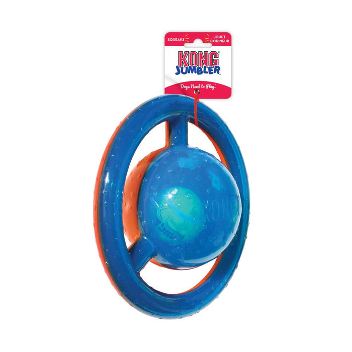 KONG Jumbler Shapes Disc Dog Toy