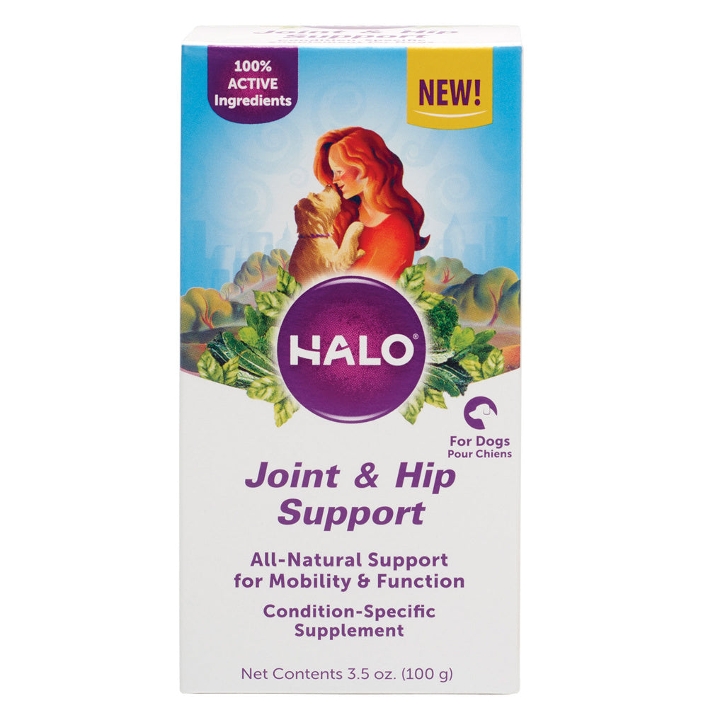Halo Joint & Hip Support Supplement Powder for Dogs