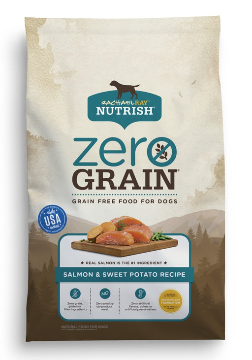 Rachael Ray Nutrish Zero Grain Natural Salmon & Sweet Potato Recipe Dry Dog Food