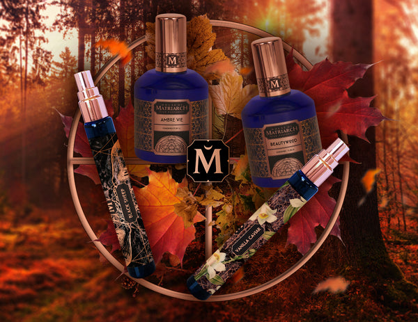 FALL FRAGRANCES - NICHE HIGH PERFUMERY - AUTUMN COLLECTION