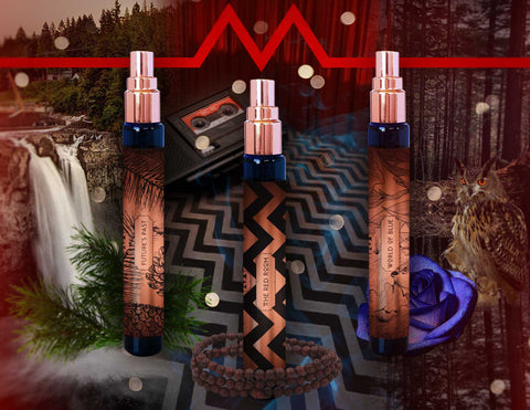 Twin Peaks Inspired Liquid Music Fragrance Trio
