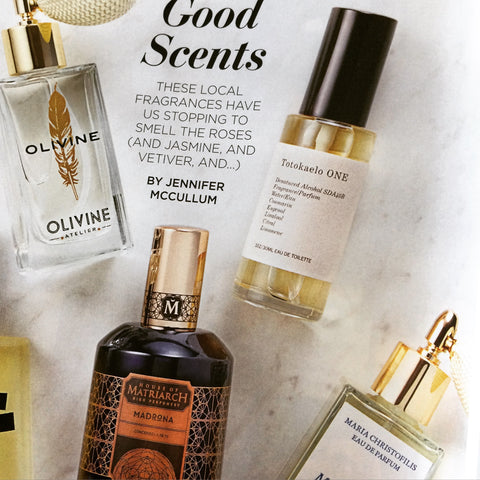 House of Matriarch Perfumes in Seattle Magazine
