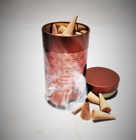 100% Natural Luxury Incense Cones - Powerful natural essences set the mood!