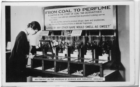 Perfume Ingredients Derived from Coal and Crude Oil