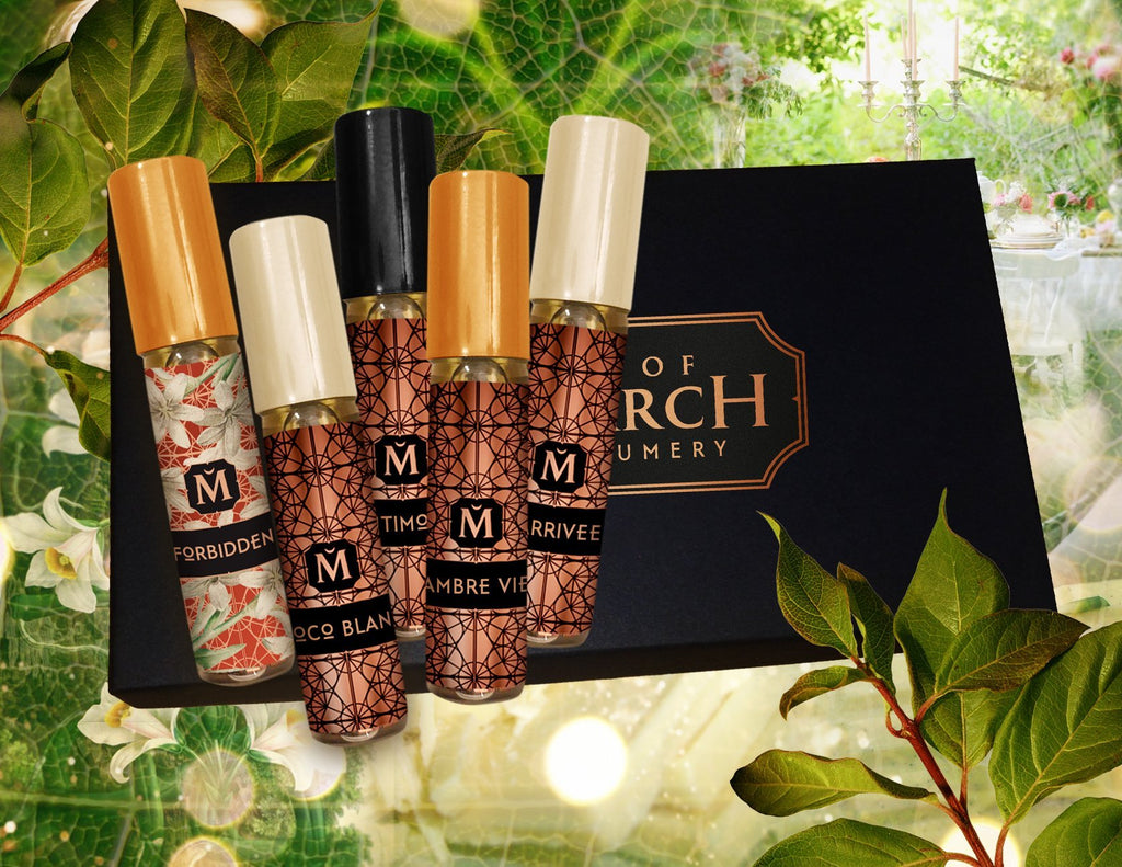 Matriarch Perfumes 100% Natural Discovery Set: Artisan and Organic High Perfumery Samples