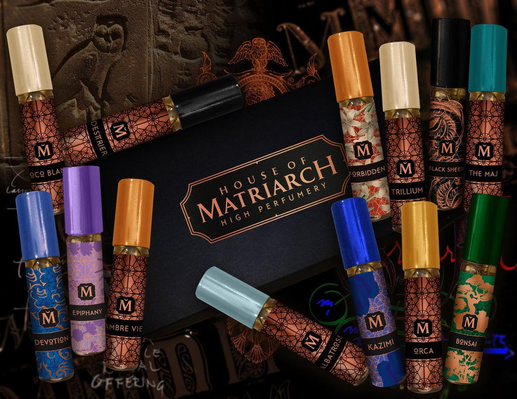 Matriarch Perfumes DELUXE  DISCOVERY