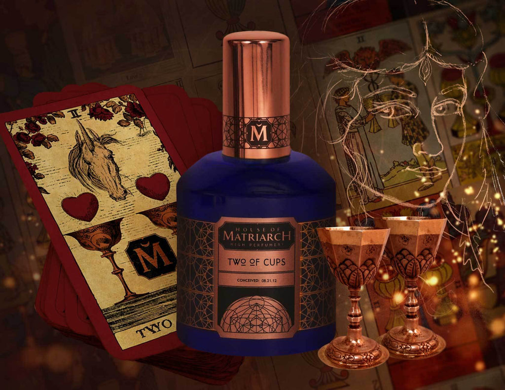 House of Matriarch - Nature is the Ultimate Luxury. High Perfumery by Christi Meshell Two of Cups - Vintage Inspired Aldehydic Floral Fragrance