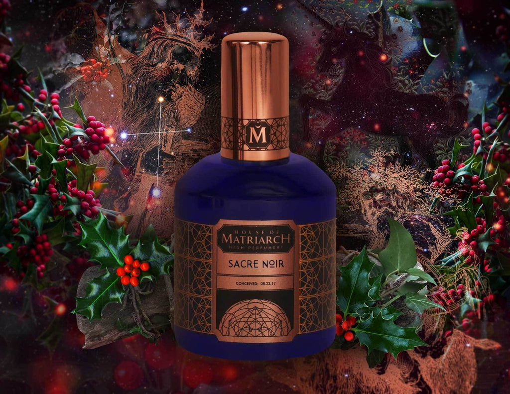 "House of Matriarch - SEATTLE, WA - Natural, Organic, Vegan, Artisan & Niche High Perfumery Sacre Noir - Winter ""Holy-Day"" Limited Edition Fragrance  - 2017 Debut Vintage - SOLD OUT"