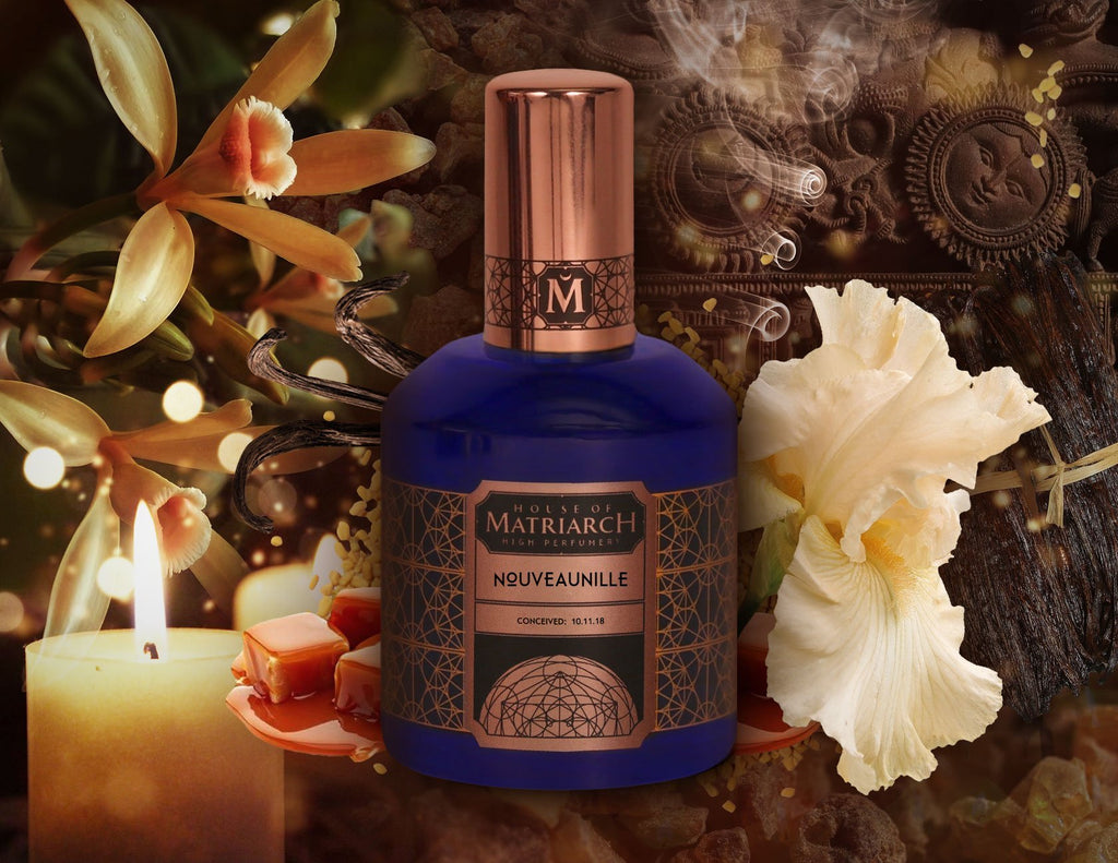 House of Matriarch - SEATTLE, WA - Natural, Organic, Vegan, Artisan & Niche High Perfumery NOUVEAUNILLE - New Unisex Niche Gourmand Fragrance