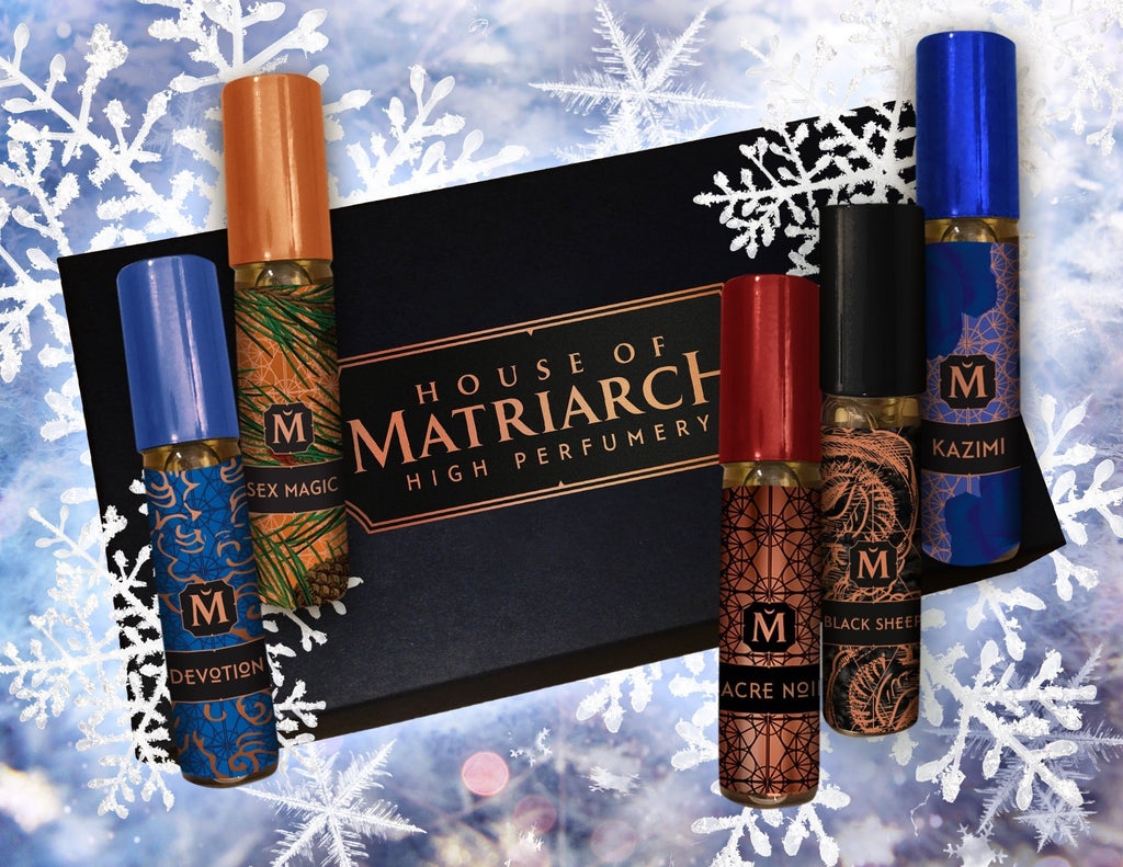 Matriarch Perfumes WINTER COLLECTION - 2020 High Perfumery Discovery Kit