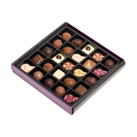 25 Assorted Fine Chocolates & Truffles Gift Box_open