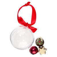 Chocolate Truffles Christmas Bauble_Open