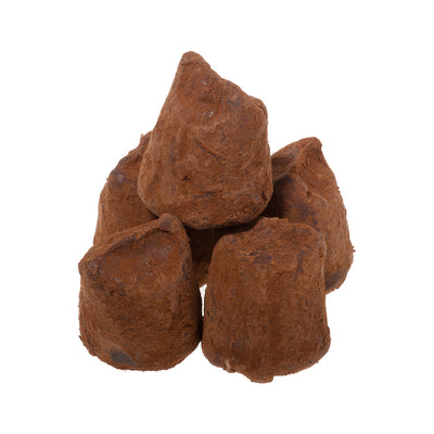Cocoa Dusted Salted Toffee Truffle
