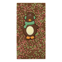 Christmas Penguin Chocolate Bar_Green