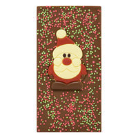 Christmas Santa Milk Chocolate Bar
