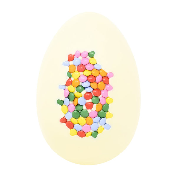 White Chocolate Candy Coated Egg - 250g