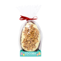 Milk Chocolate Honeycomb Egg - 250g wrapped