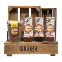 Hot Chocolate & Spoons Gift Set (crate not included)